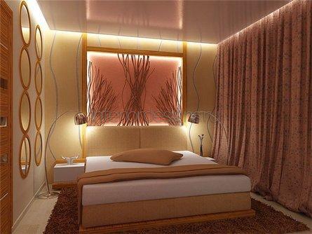 необычное оформление комнаты в хрущевке