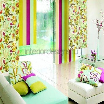 красочный домашний интерьер
