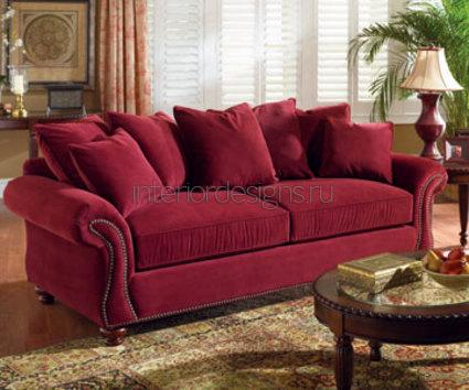 обивка мебели бархатом