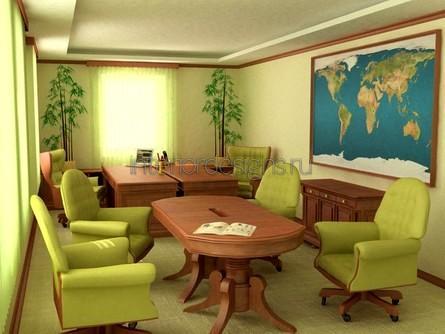 переговорная зона в кабинете