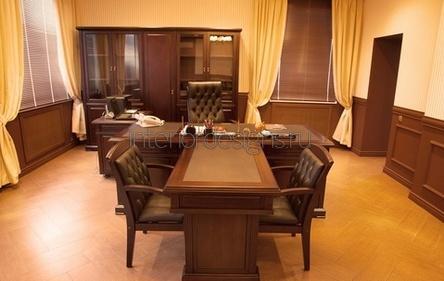 роскошное оформление кабинета директора