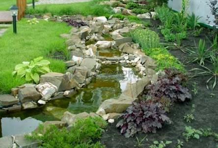 проектирование садового ручья