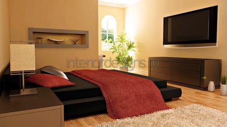 двуспальная кровать без ножек