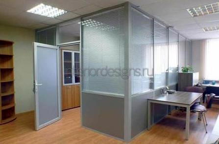 алюминиевые перегородки для кабинета