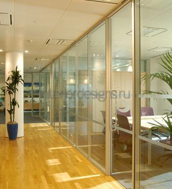 кабинетные перегородки из стекла