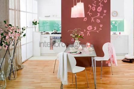 цветочные композиции в кухне и столовой