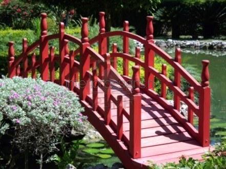 мостик для японского сада