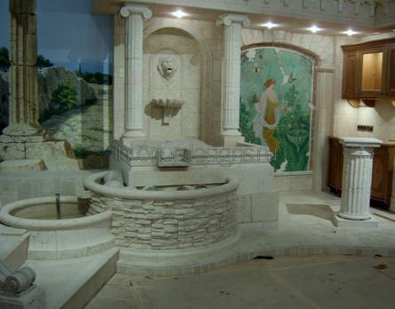 изысканное оформление ванной