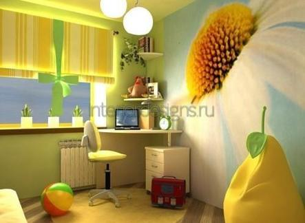 комната младшего школьника
