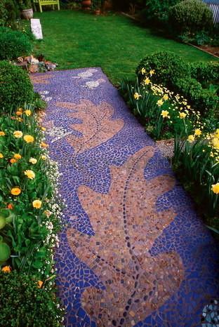 художественное оформление двора