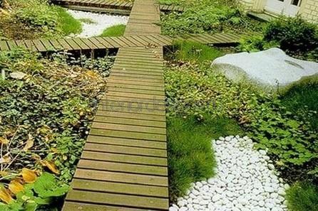 идеи ландшафтного дизайна частного дома