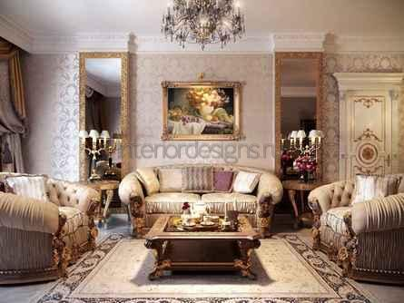 эксклюзивное украшение жилой комнаты