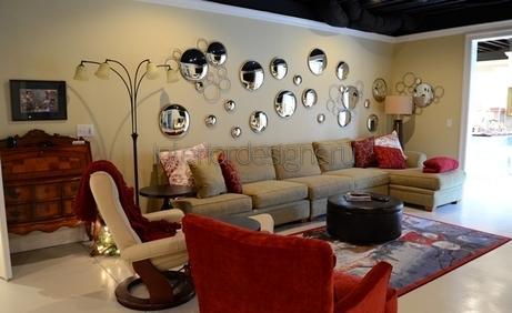 декор зала в квартире