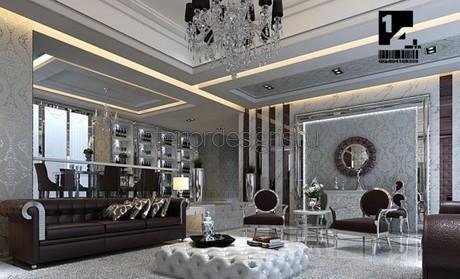 оформление гостиной комнаты