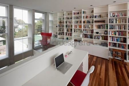 уютный дизайн кабинета в доме