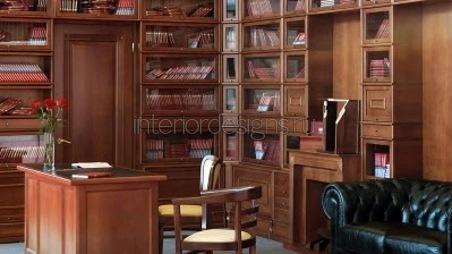 офисная мебель из дерева