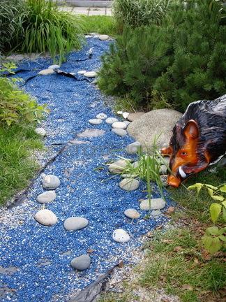 декоративный камень для водоемов