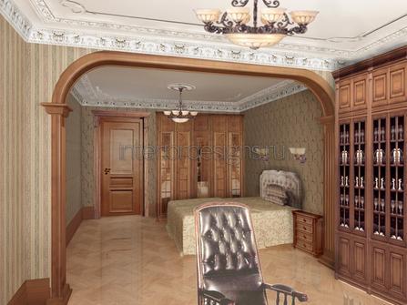 арка в комнате