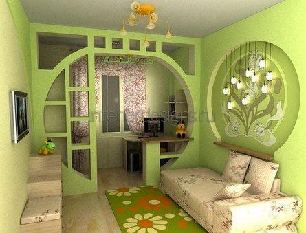 конструкция из гипсокартона в квартире
