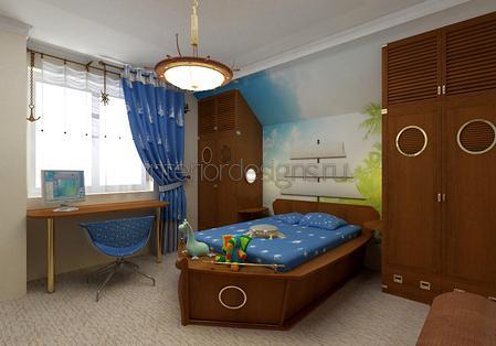 кровать-подводная лодка