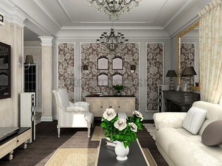 оформление комнаты в классическом стиле