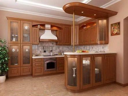 современный дизайн-проект кухни