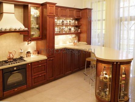 оригинальный дизайн проект кухни