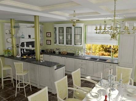 обустройство кухни-столовой