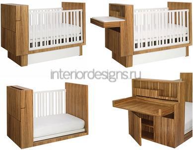 многофункциональная кроватка малыша