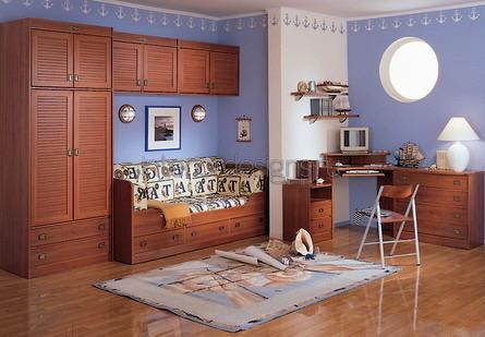 идеи дизайна маленькой детской комнаты