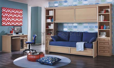 кровать-диван в квартире