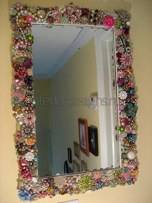 Оформление зеркало своими руками фото - NicosPizza.Ru