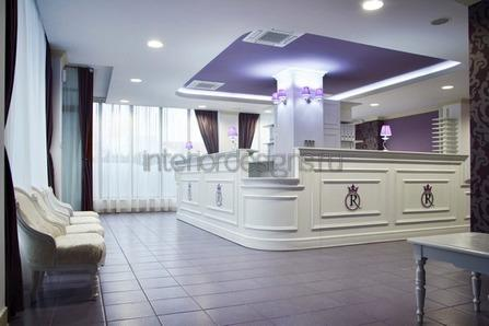декоративная подсветка в приемной комнате
