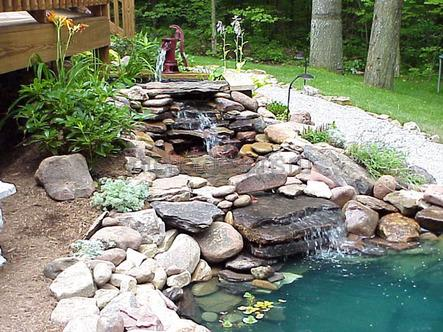 искусственные водоемы в ландшафтном дизайне