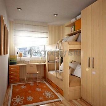 комплект мебели для двоих детей