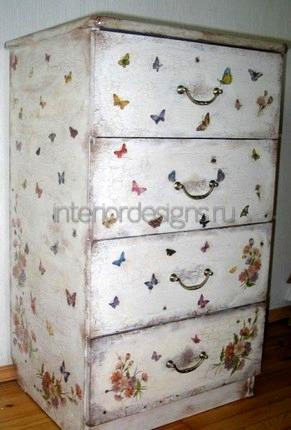 красивый декор мебели своими руками