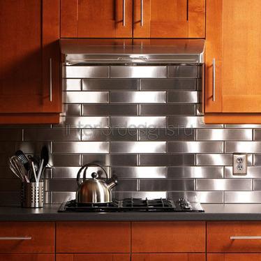 металлические поверхности на кухне