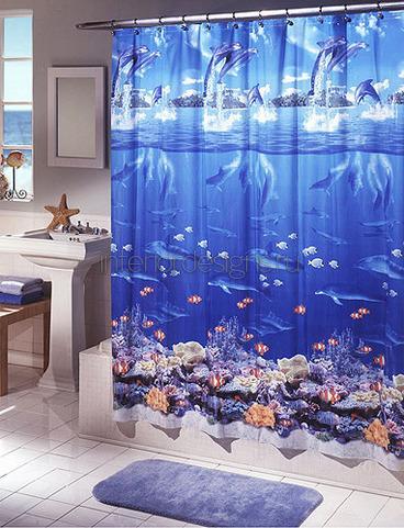 оригинальный декор для ванной комнаты