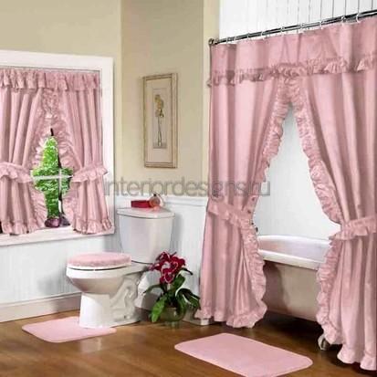 яркий декор для ванной