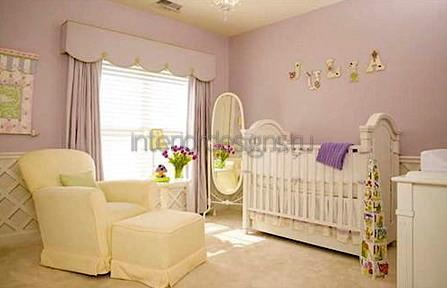 мебель в комнате малыша