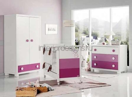 оформление комнаты младенца
