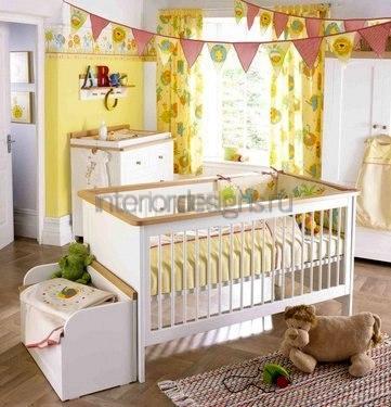 цвет стен в комнате ребенка