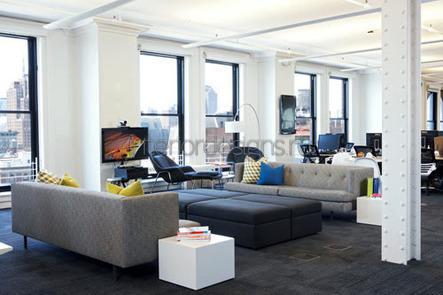 лаунж-зона для работников компании
