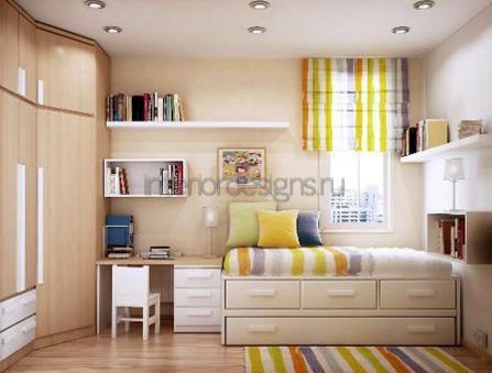 Дизайн интерьеров гостинной