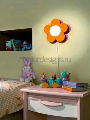 настенный светильник в комнате ребенка