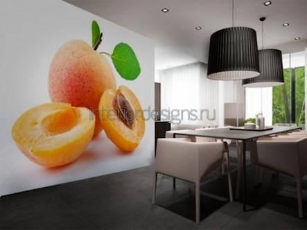 фруктовая тематика в оформлении помещений