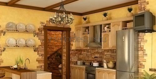 Как сделать полку для кухни фото 405