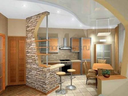 идеи для оформления кухонных помещений