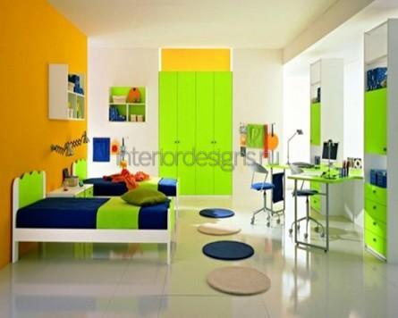 интерьер красивой детской комнаты