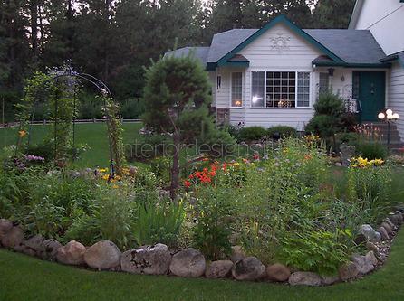 сад в кантри-стиле